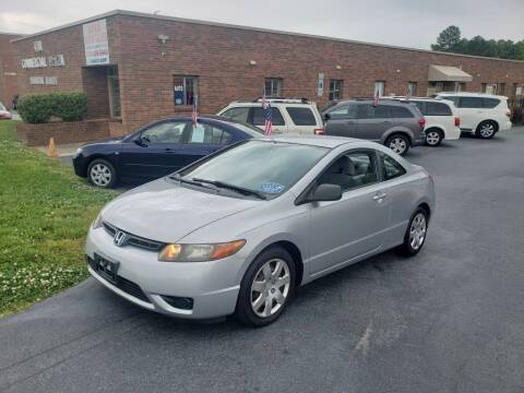 2007 Honda Civic for sale at ARA Auto Sales in Winston-Salem NC