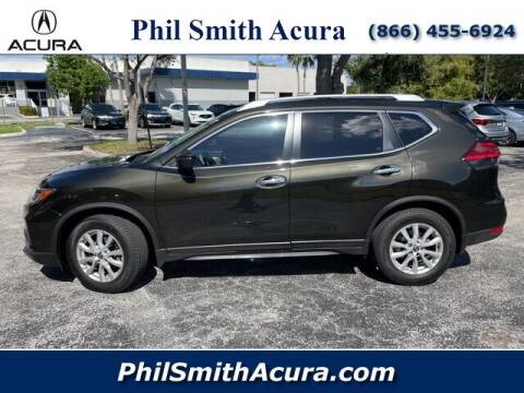 2017 Nissan Rogue for sale at PHIL SMITH AUTOMOTIVE GROUP - Phil Smith Acura in Pompano Beach FL