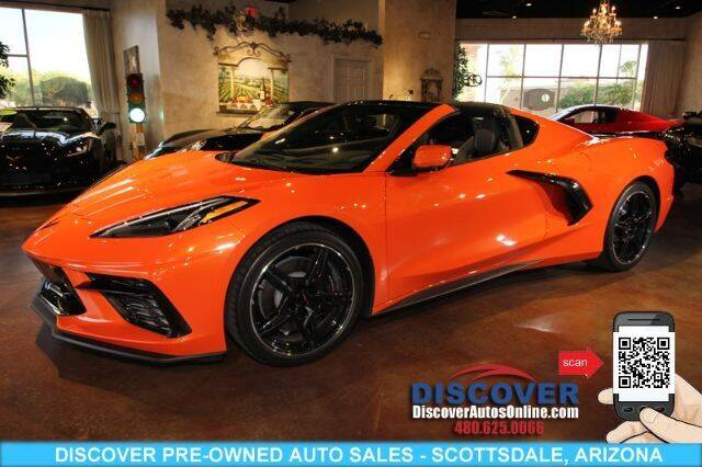 2020 Chevrolet Corvette for sale at Discover Pre-Owned Auto Sales in Scottsdale AZ