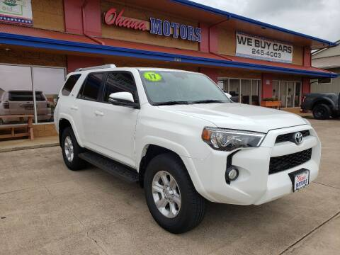 2017 Toyota 4Runner for sale at Ohana Motors in Lihue HI