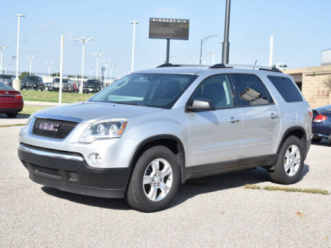 2011 GMC Acadia for sale at Dave Johnson Sales in Wichita KS