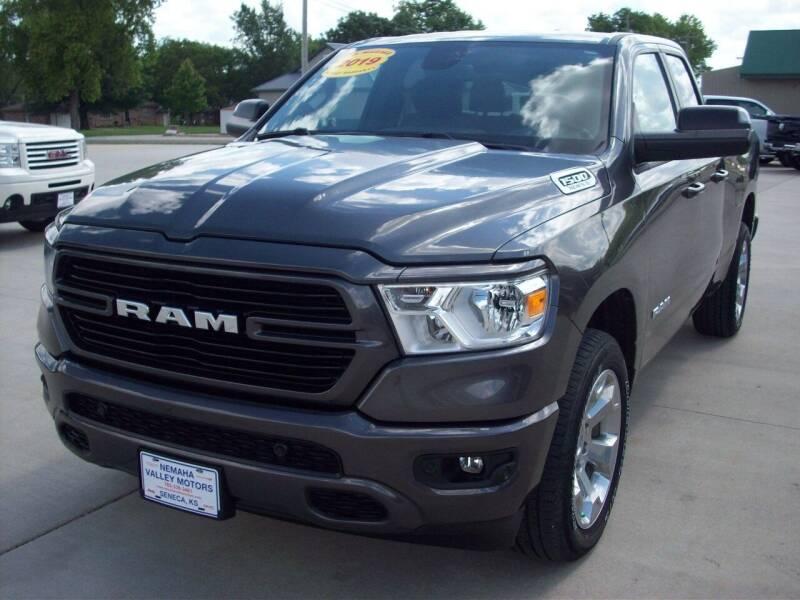 2019 RAM Ram Pickup 1500 for sale at Nemaha Valley Motors in Seneca KS