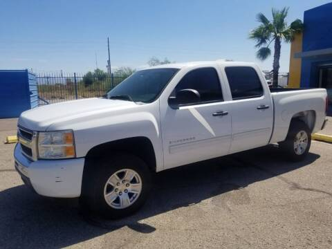 2010 Chevrolet Silverado 1500 for sale at CAMEL MOTORS in Tucson AZ