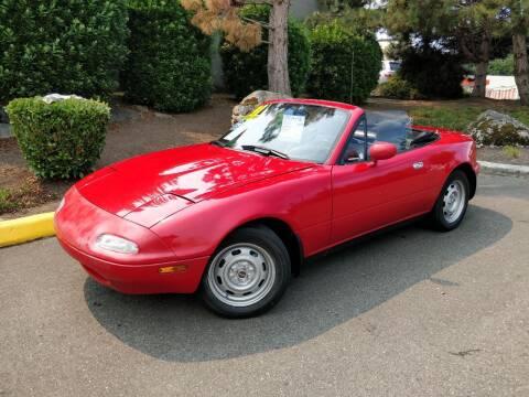 1991 Mazda MX-5 Miata for sale at SS MOTORS LLC in Edmonds WA