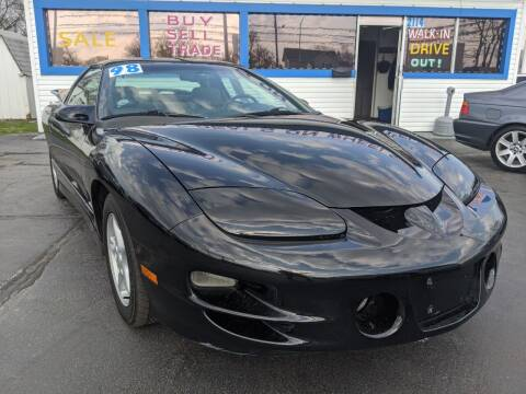 1998 Pontiac Firebird for sale at GREAT DEALS ON WHEELS in Michigan City IN