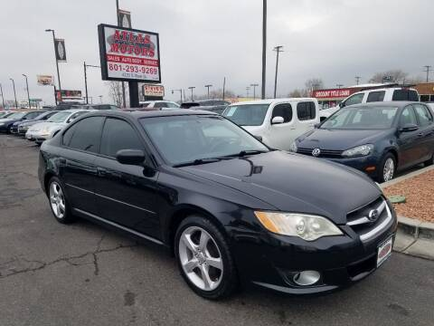 2009 Subaru Legacy for sale at ATLAS MOTORS INC in Salt Lake City UT