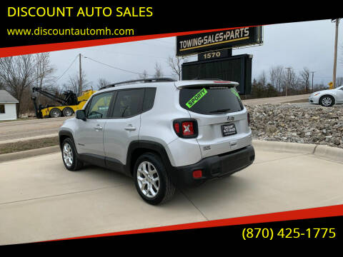 2018 Jeep Renegade for sale at DISCOUNT AUTO SALES in Mountain Home AR