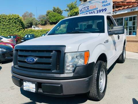 2011 Ford F-150 for sale at MotorMax in Lemon Grove CA