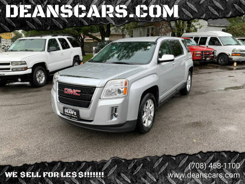 2013 GMC Terrain for sale at DEANSCARS.COM in Bridgeview IL