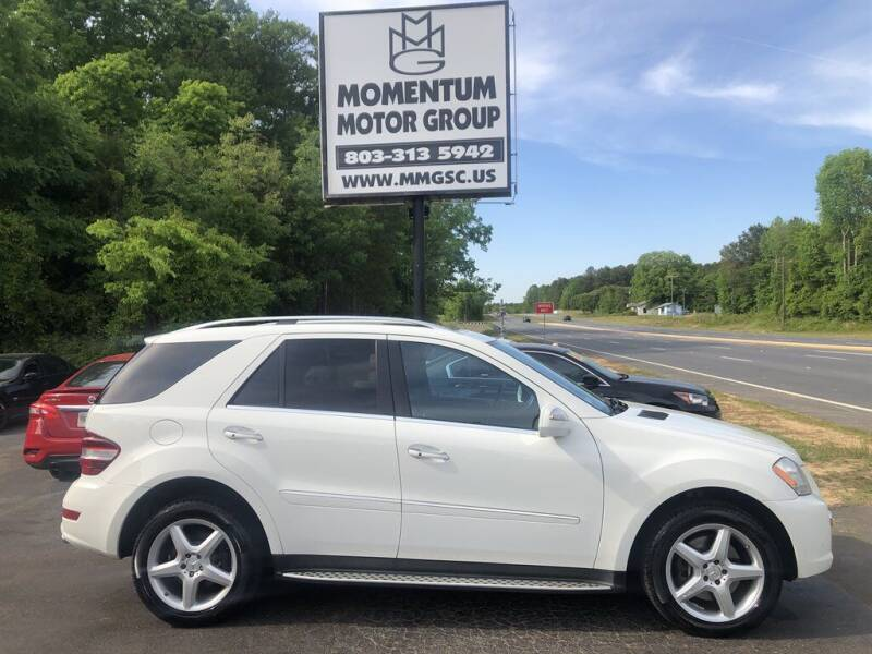 2009 Mercedes-Benz M-Class for sale at Momentum Motor Group in Lancaster SC