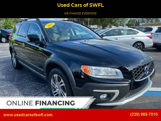 2015 Volvo XC70 for sale at Used Cars of SWFL in Fort Myers FL