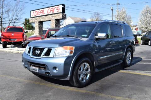 2010 Nissan Armada for sale at I-DEAL CARS in Camp Hill PA