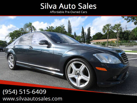 2007 Mercedes-Benz S-Class for sale at Silva Auto Sales in Pompano Beach FL
