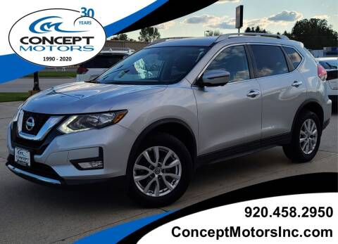 2017 Nissan Rogue for sale at CONCEPT MOTORS INC in Sheboygan WI