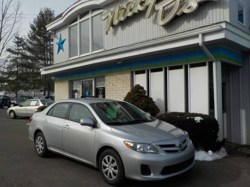 2011 Toyota Corolla for sale at Nicky D's in Easthampton MA