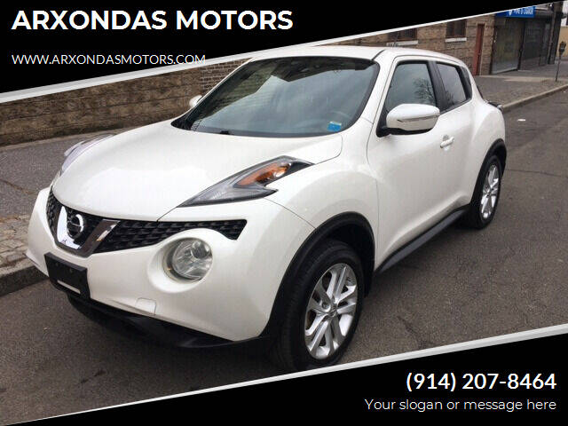 2015 Nissan JUKE for sale at ARXONDAS MOTORS in Yonkers NY