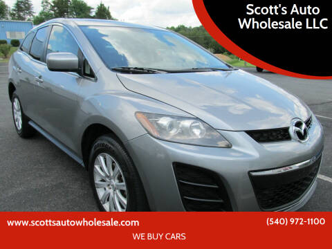 2011 Mazda CX-7 for sale at Scott's Auto Wholesale LLC in Locust Grove VA