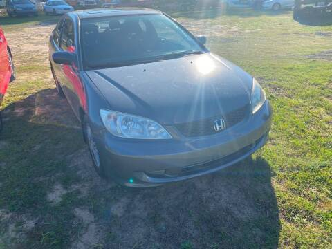 2005 Honda Civic for sale at Nash's Auto Sales Used Car Dealer in Milton FL