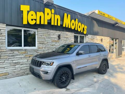 2018 Jeep Grand Cherokee for sale at TenPin Motors LLC in Fort Atkinson WI