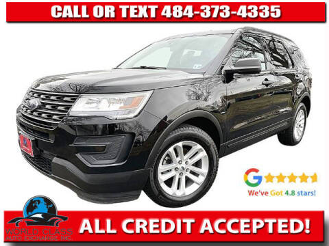 2017 Ford Explorer for sale at World Class Auto Exchange in Lansdowne PA