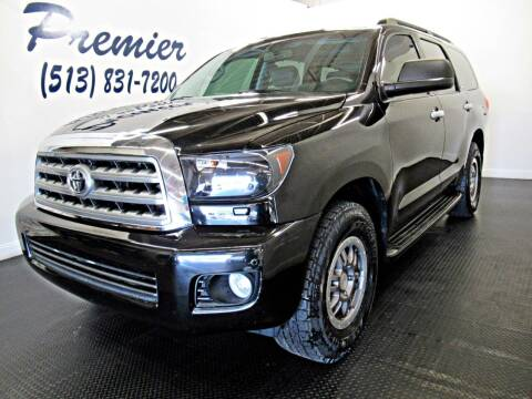 2013 Toyota Sequoia for sale at Premier Automotive Group in Milford OH