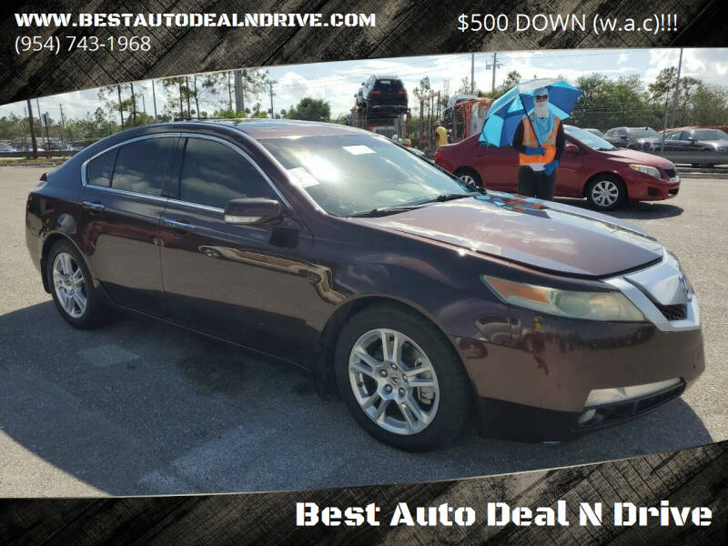2010 Acura TL for sale at Best Auto Deal N Drive in Hollywood FL