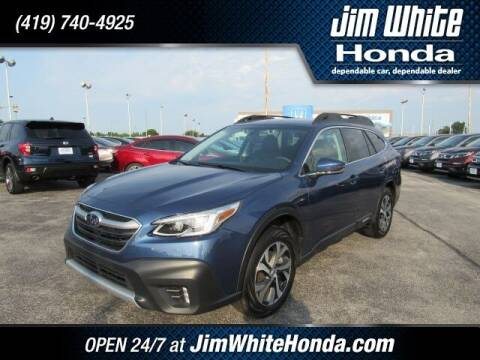 2020 Subaru Outback for sale at The Credit Miracle Network Team at Jim White Honda in Maumee OH