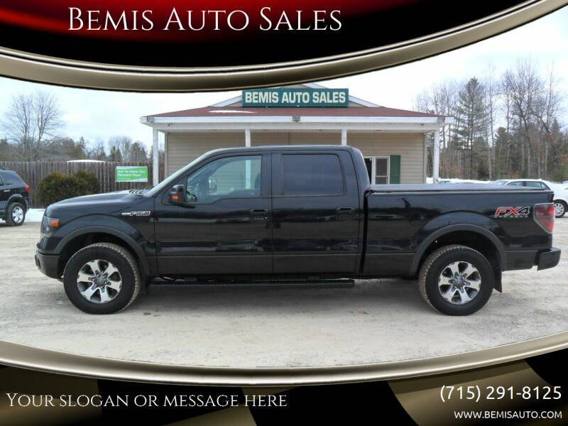 2014 Ford F-150 for sale at Bemis Auto Sales in Crivitz WI