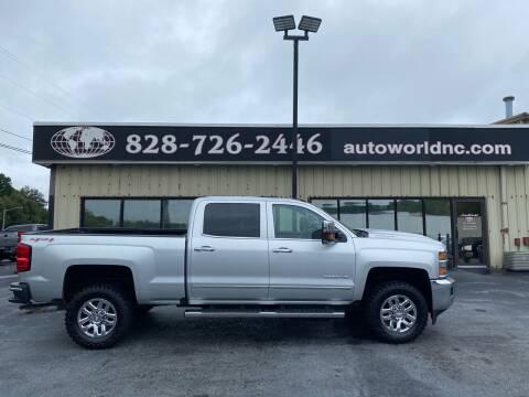 2017 Chevrolet Silverado 2500HD for sale at AutoWorld of Lenoir in Lenoir NC