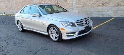 2012 Mercedes-Benz C-Class for sale at U.S. Auto Group in Chicago IL