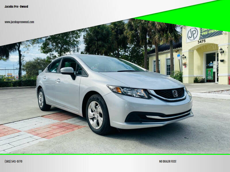 2014 Honda Civic for sale at Jacobs Pre-Owned in Lake Worth FL