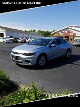 2017 Chevrolet Malibu for sale at DANSVILLE AUTO MART INC in Dansville NY
