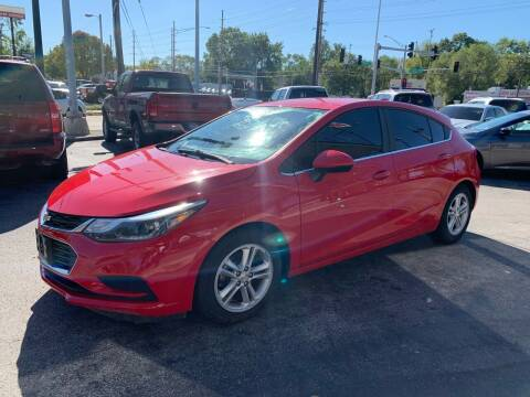 2017 Chevrolet Cruze for sale at Smart Buy Car Sales in Saint Louis MO