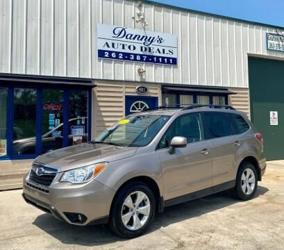2015 Subaru Forester for sale at Danny's Auto Deals in Grafton WI