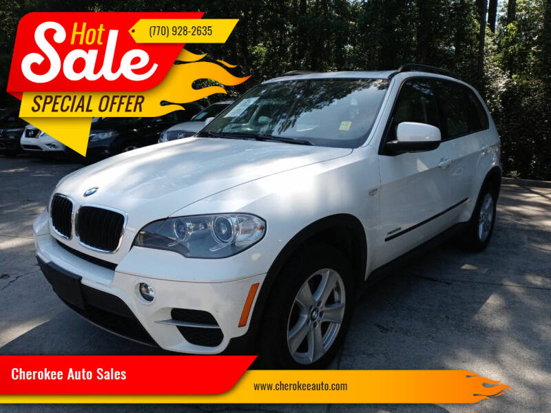 2013 BMW X5 for sale at Cherokee Auto Sales in Acworth GA