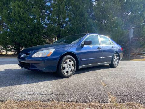2005 Honda Accord for sale at Front Porch Motors Inc. in Conyers GA