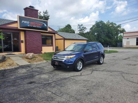 2011 Ford Explorer for sale at Pro Motors in Fairfield OH