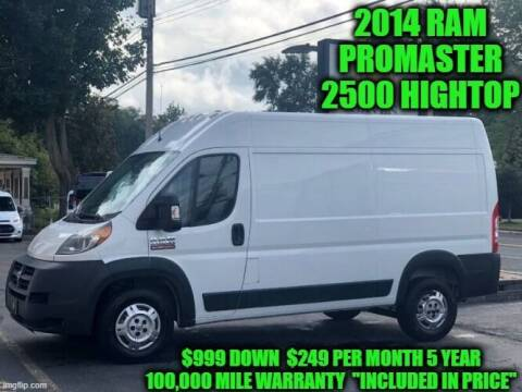 2014 RAM ProMaster Cargo for sale at D&D Auto Sales, LLC in Rowley MA