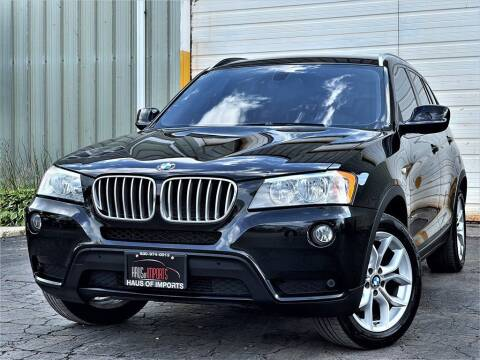 2013 BMW X3 for sale at Haus of Imports in Lemont IL