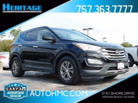 2014 Hyundai Santa Fe Sport for sale at Heritage Motor Company in Virginia Beach VA