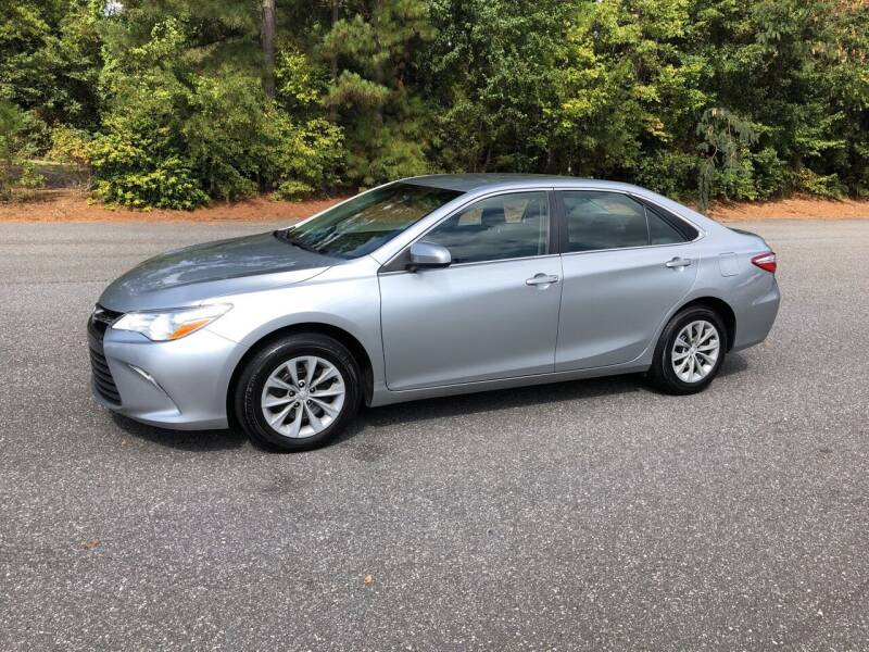 2015 Toyota Camry for sale at Dorsey Auto Sales in Anderson SC