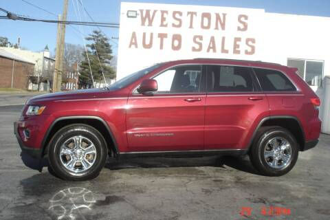 2014 Jeep Grand Cherokee for sale at Weston's Auto Sales, Inc in Crewe VA
