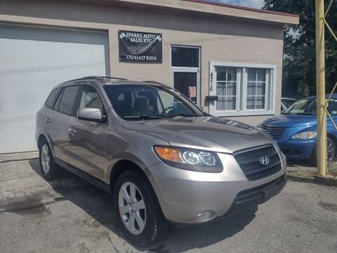 2007 Hyundai Santa Fe for sale at Sparks Auto Sales Etc in Alexis NC