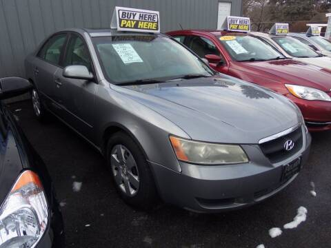 2008 Hyundai Sonata for sale at Fulmer Auto Cycle Sales - Fulmer Auto Sales in Easton PA