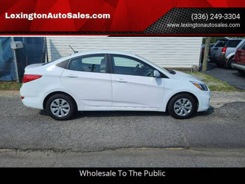 2017 Hyundai Accent for sale at LexingtonAutoSales.com in Lexington NC