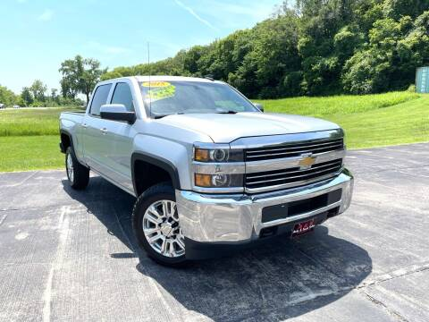 2015 Chevrolet Silverado 2500HD for sale at A & S Auto and Truck Sales in Platte City MO