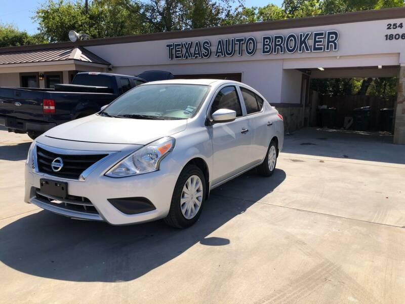 2018 Nissan Versa for sale at Texas Auto Broker in Killeen TX