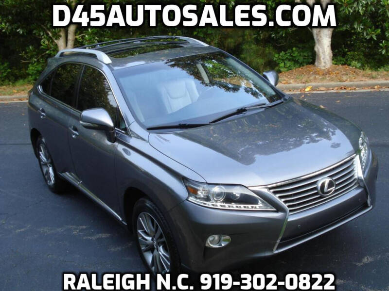 2013 Lexus RX 350 for sale at D45 Auto Brokers in Raleigh NC