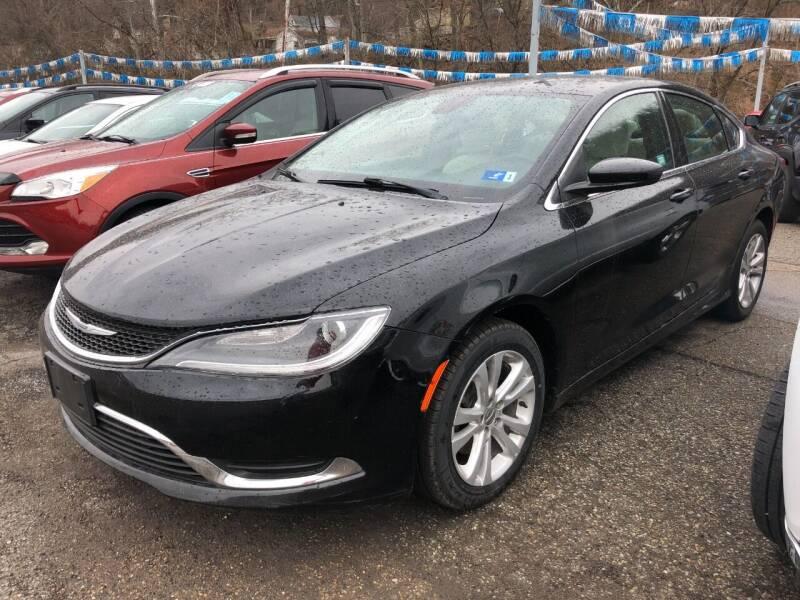 2016 Chrysler 200 for sale at Matt Jones Preowned Auto in Wheeling WV
