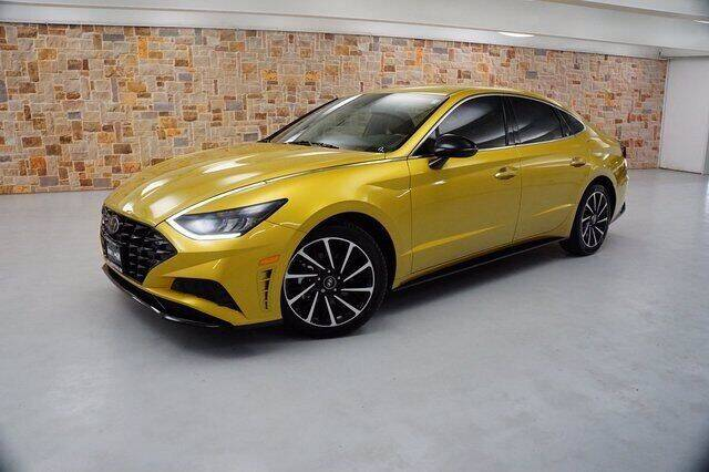 2020 Hyundai Sonata for sale at Jerry's Buick GMC in Weatherford TX